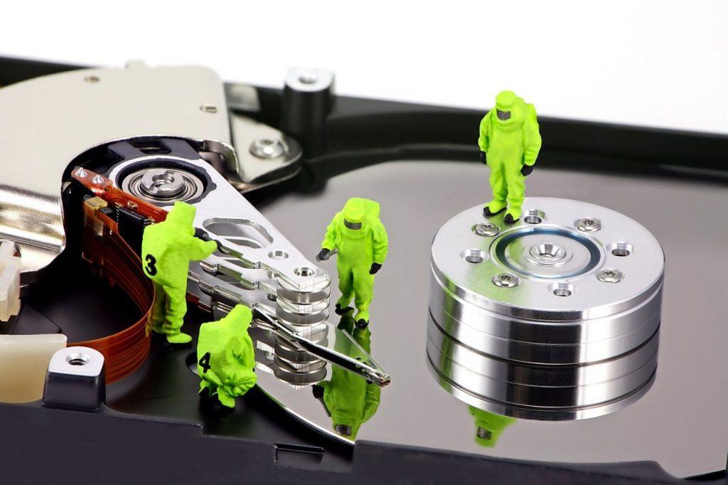 information recuperation programming
